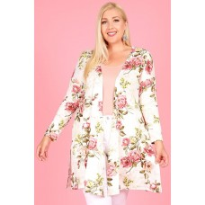 P1196 Ivory Floral