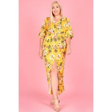 P1288 Mustard Floral